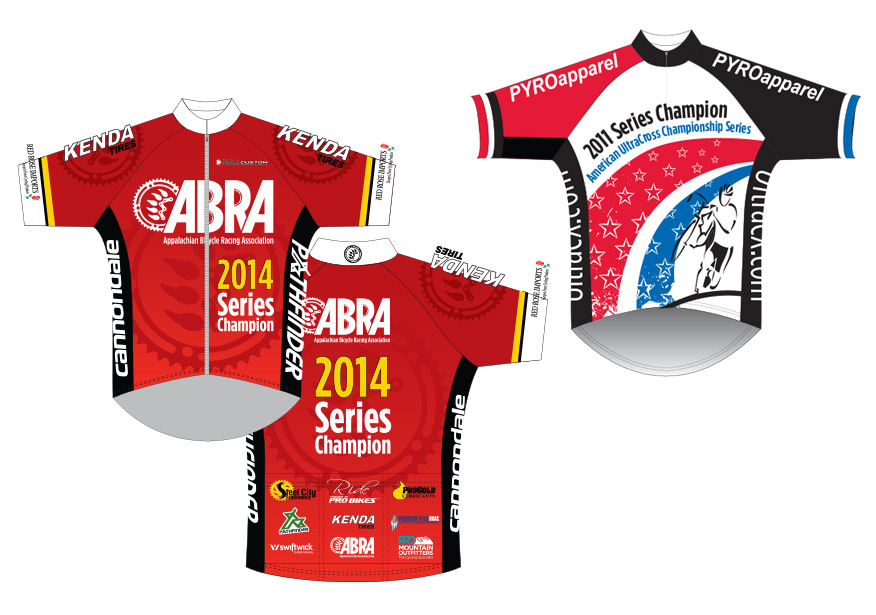 Graphic Design - cycling jersey design