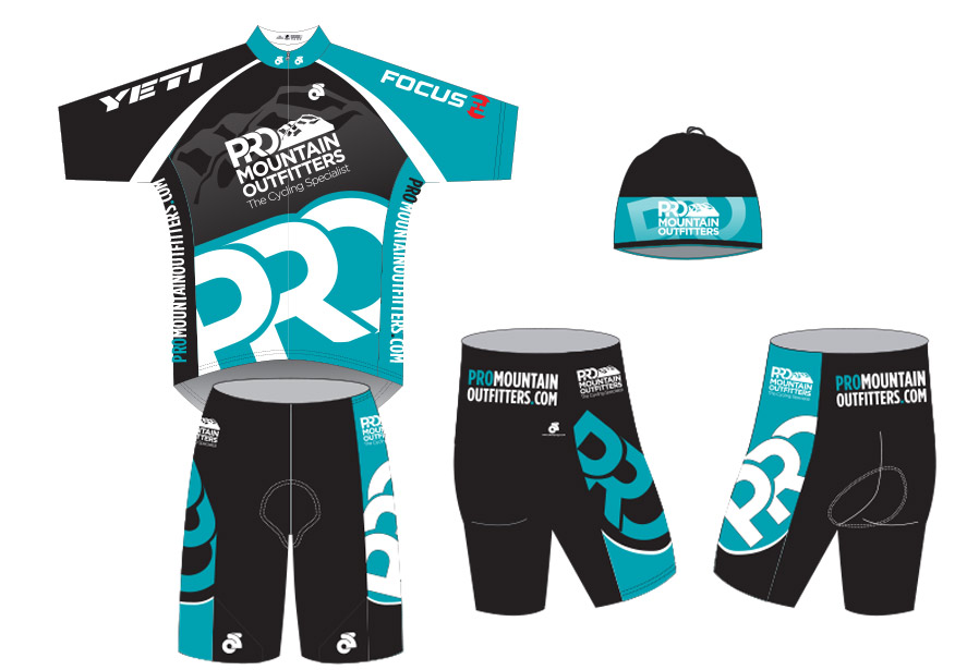 Graphic Design - cycling kit design