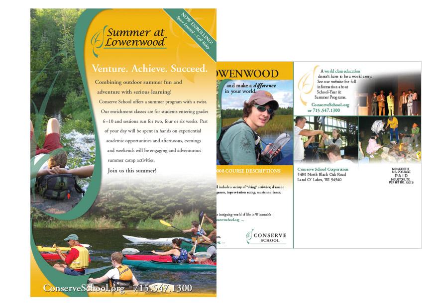 Graphic Design - direct mail postcard design